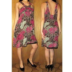 A/X Armani Exchange Silk Midi Dress